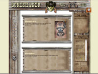Le site officiel du groupe Boneshaker
